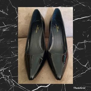 Brooks Brothers Black Patent Leather Pumps